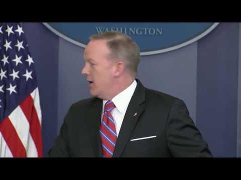 Gronk interrupts Sean Spicer press briefing! Rob Gronkowski joins White House press briefing!