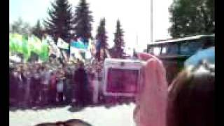 Парад боевой техники  Сумы 2011
