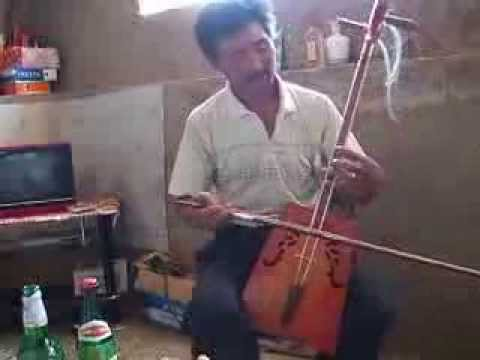 Inner Mongolia ::  Our Brother playing the morin khuur, part 1