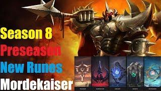 League of Legends | New Rune System | Mordekaiser Top | Preseason 2018