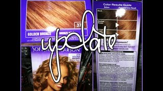New Hair Cut Plus Hair Color Application(Dark and Lovely)