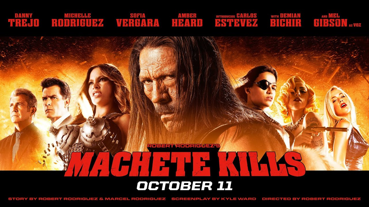 Amber heard in machete kills - 3 part 7
