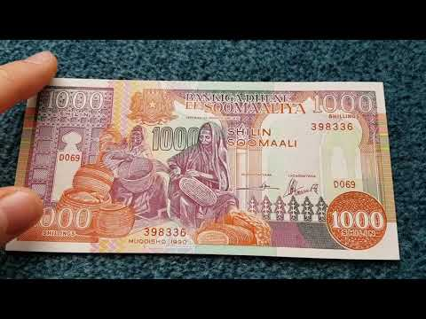 #Currency special part 99: Somalia Shilling