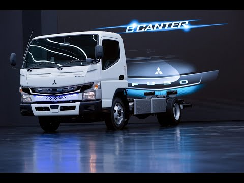 New 2021 FUSO Canter -This light truck is especially safe !