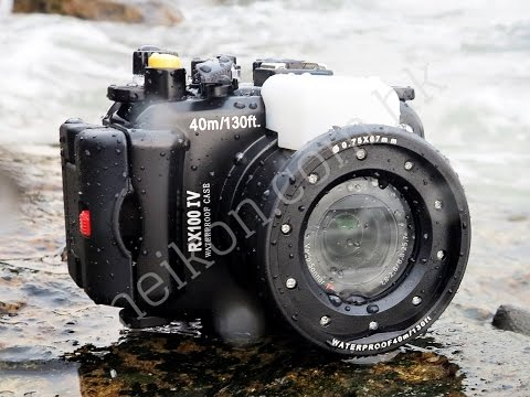 Watch this test of Meikon underwater camera housing for Sony RX100 IV