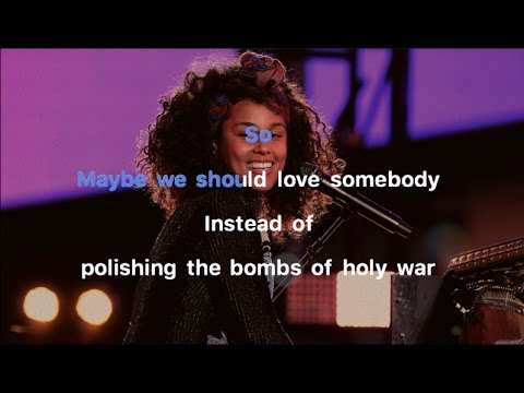 Alicia Keys -  Holy War Karaoke