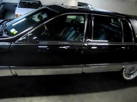 1996 Cadillac Fleetwood Brougham In Triple Black Youtube
