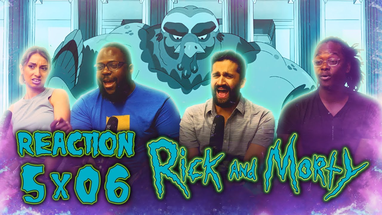 Rick and Morty - 5x6 Rick & Morty's Thanksploitation Spectacular - Group Reaction