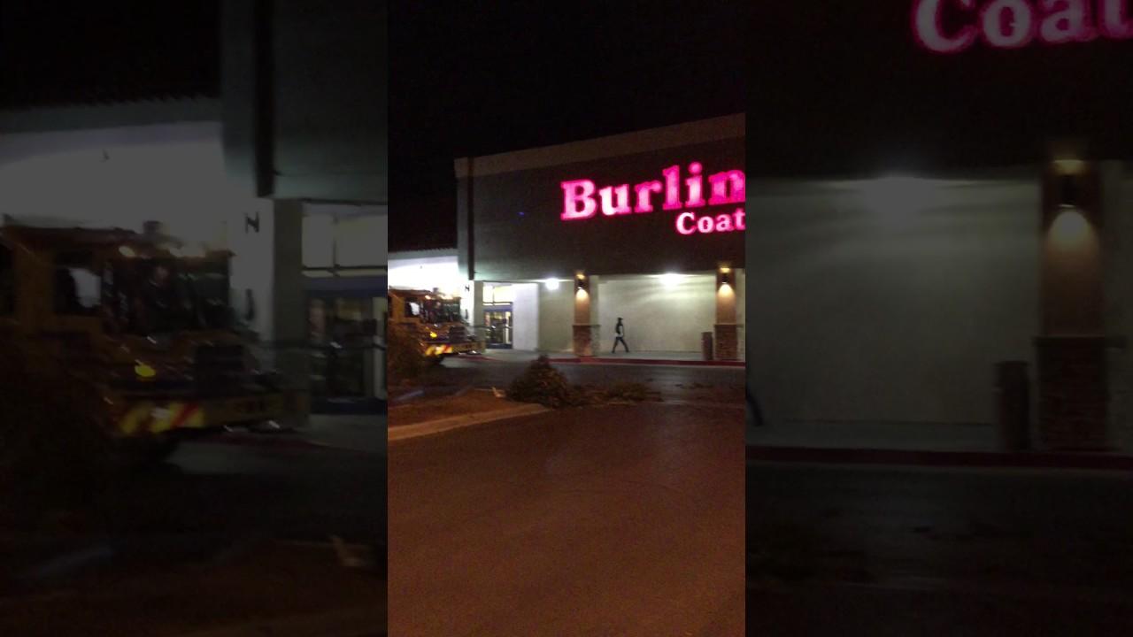 3f59b2fac23 Scene of crash outside Burlington Coat Factory in Las Vegas - YouTube