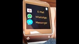 Samsung Gear WhatsApp & Messenger ATN Notification AllTheNotification