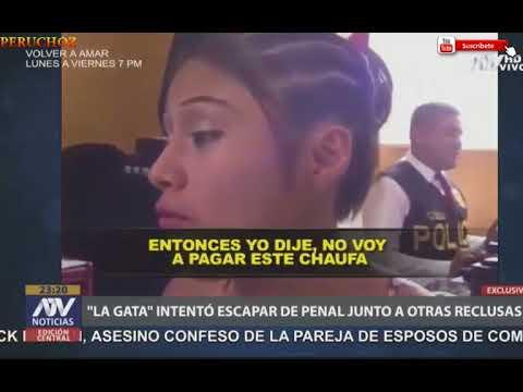 """¡ REVELADOR ! """"LA GATA"""" INTENTO ESCAPAR DEL PENAL JUNTO A OTRAS RECLUSAS"""