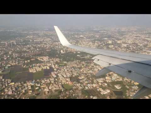 Landing at Chennai