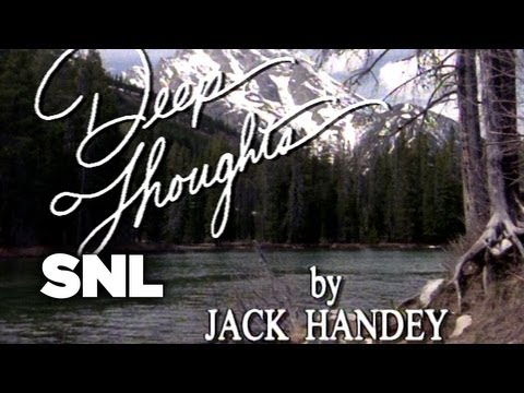 Deep Thoughts: Mankind - Saturday Night Live