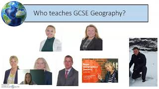 Geography @ KS4 - 2021 Options