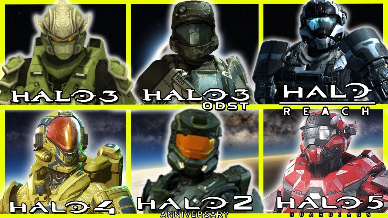 Evolution Of Halo Armor Customization In Multiplayer