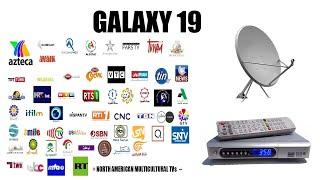 (Galaxy 19) Free FTA Channels for USA, Canada, Mexico & Carribean