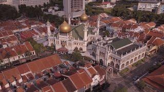 Sultan Mosque - Singapore - Aerial View