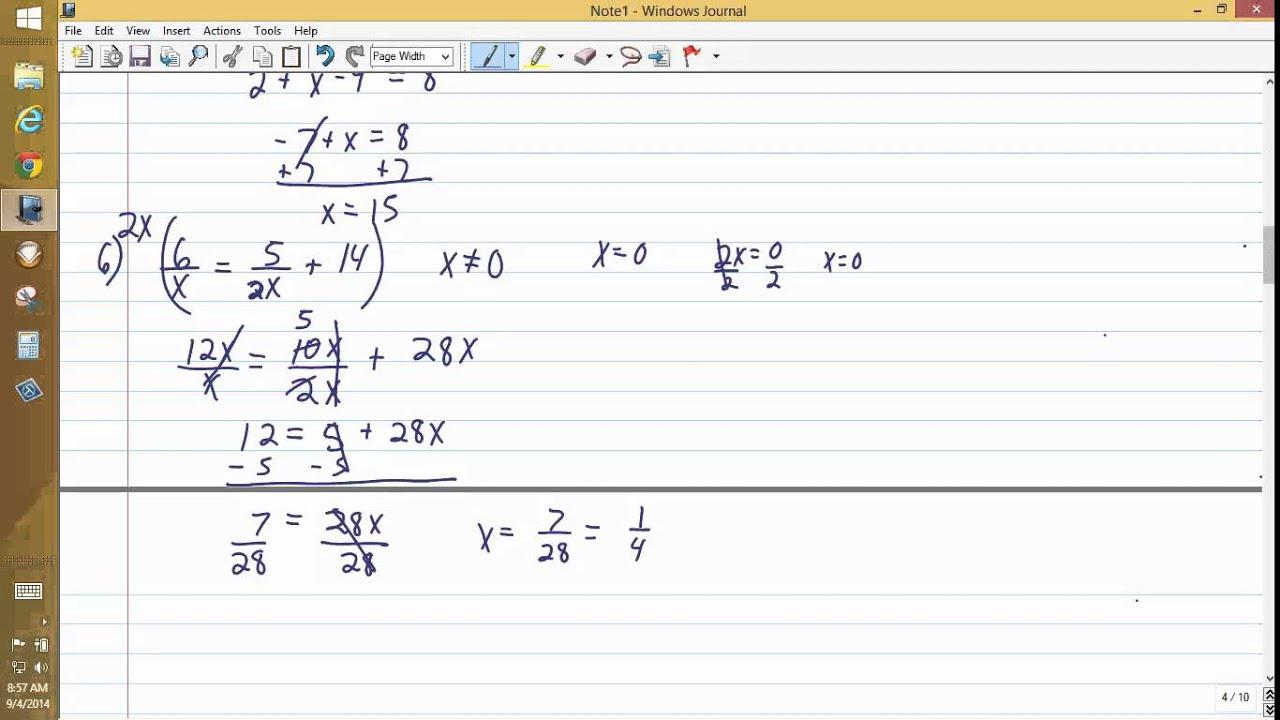 College Algebra Clep Test Answers