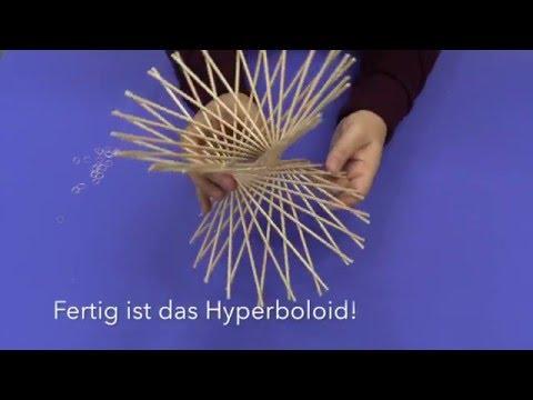 How to build a flexible hyperboloid  –– MathLapse