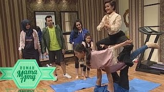 Latihan Yoga with Sarwendah, Mama Amy, Gigi, Widi - Rumah Mama Amy (10/6)