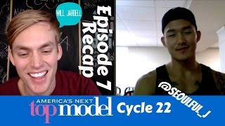 ANTM Cycle 22 Episode 7 Recap with Justin Kim (America's Next Top Model)