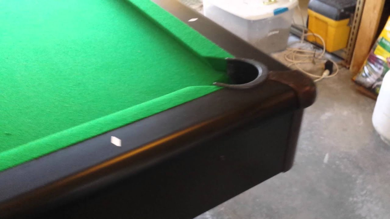 CL Bailey Addison YouTube - Cl bailey pool table