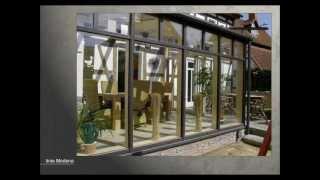 видео Остекление зимнего сада - алюминиевое остекление зимних садов в Москве