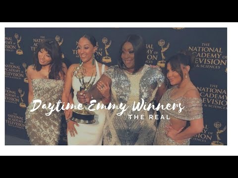 The Real WINS Daytime Emmy for Outstanding Entertainment Talk Show Host!!