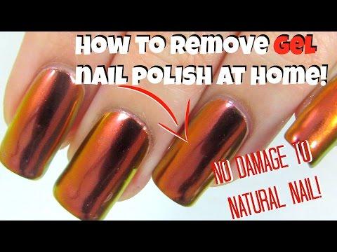 Right Way To Remove Gel Nail Polish At Home