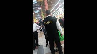 Задержание в Ашане Белая Дача