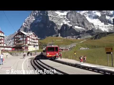 My trip to the Jungfraujoch - The Top of Europe 4 september 2013