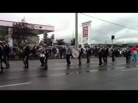 Band at the parade