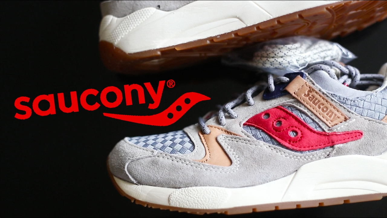 Saucony Grid 9000 Light Grey On Feet Review! YouTube
