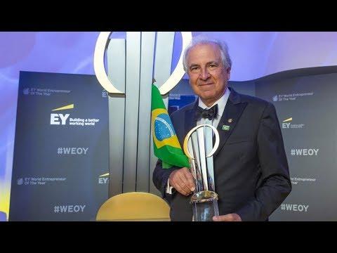 Rubens Menin of MRV Engenharia from Brazil named EY World Entrepreneur Of The Year™ 2018