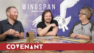 European Wingspan with Mom | Playing the Expansion