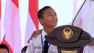 Cita-Cita Joseph Membuat Pak Jokowi Ngakak