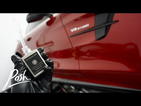 Hyacinth Red AMG GTR ~ New Vehicle Prep With Kamikaze Film Surface Coat!