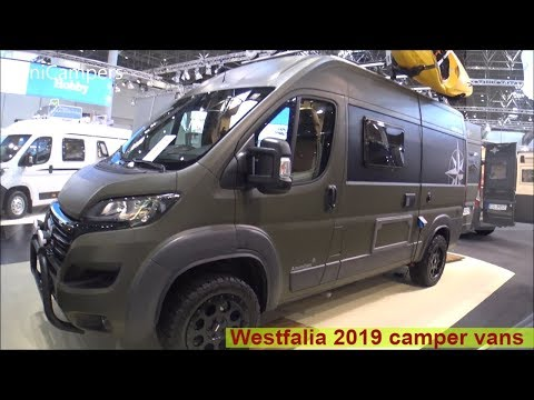 The 2019 WESTFALIA camper vans