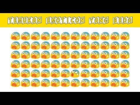 Tebakan Sulit Ditebak !!! Temukan 1 Emoji Yang Beda