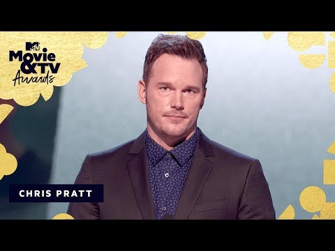 Chris Pratt's 9-point speech at the MTV Awards is totally bonkers