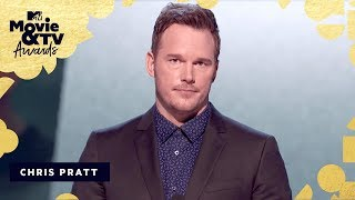 Chris Pratt is Our Generation Award Recipient | 2018 MTV Movie & TV Awards