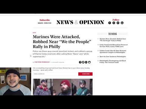Antifa Beat And Robbed Marine Corps Reservists