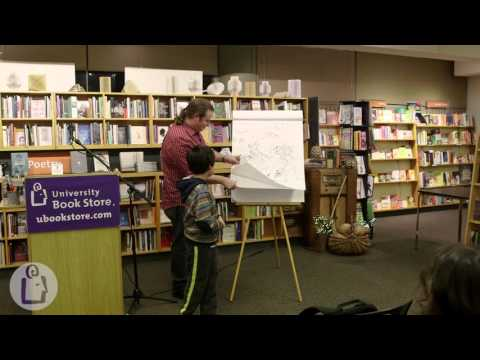Judd Winick and Matthew Holm  at University Book Store - Seattle