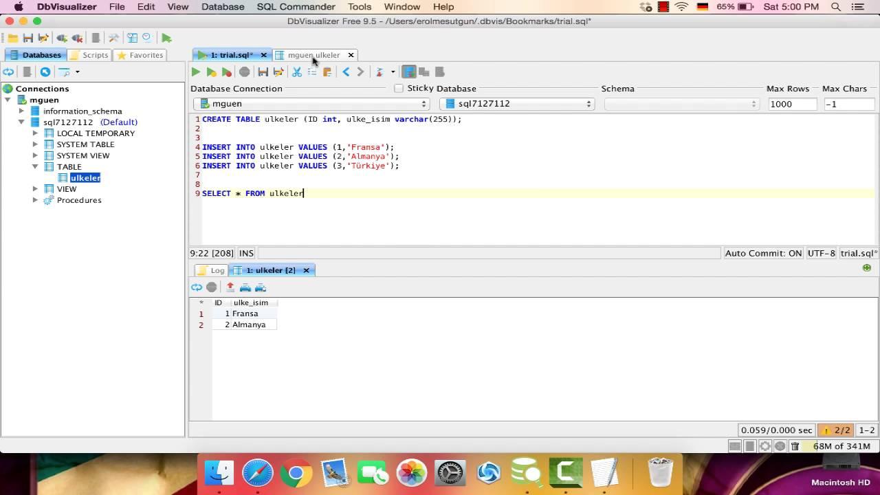 Yakın Kampüs - MySQL - Ders 2: SELECT, DISTINCT ve LIMIT
