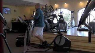 Life Fitness X1 Elliptical from AtHomeFitness.com