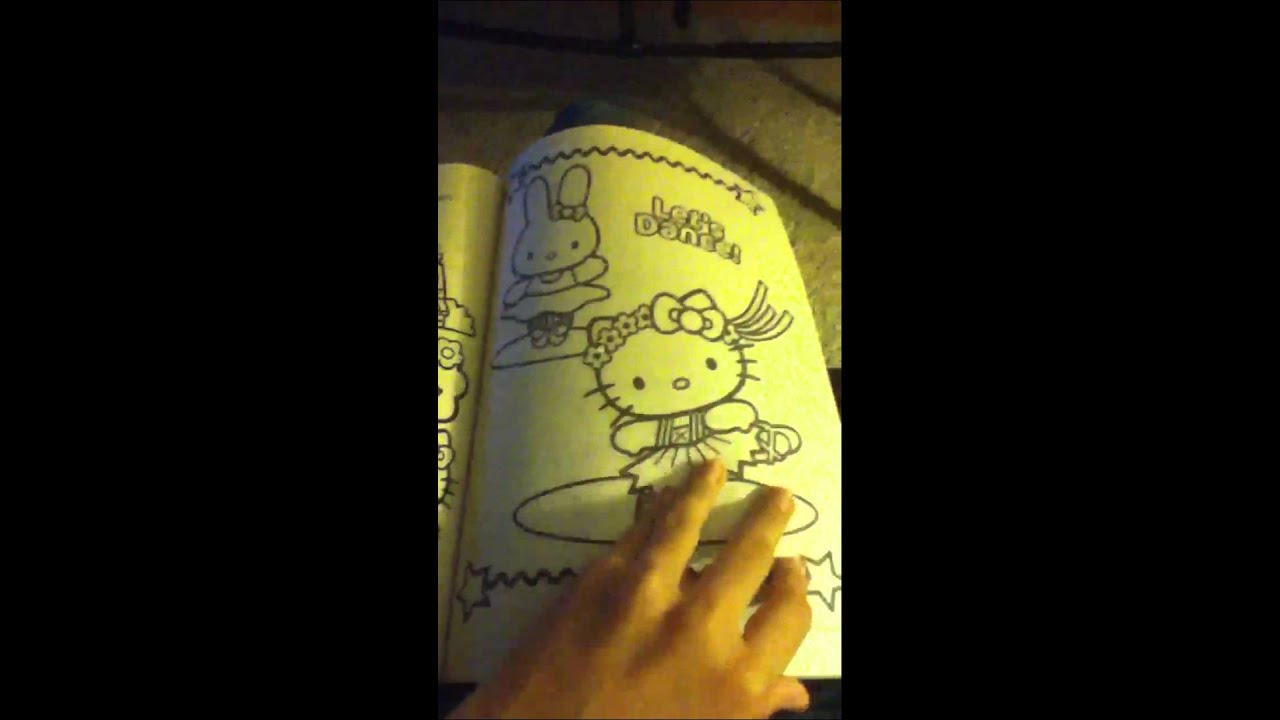 FREE Hello Kitty Coloring Book with 288 Pages  YouTube