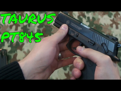 Taurus PT845 and Crazy Tree Fire 2017