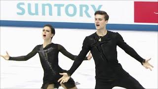 Российские фигуристы Наталья Забияко и Александр Энберт Произвольная программа Чемпионат мира 2019