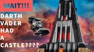 Wait!!! Darth Vader had a Castle????