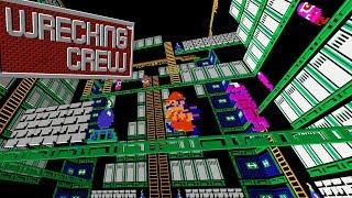 Wrecking Crew (Black Box NES game) James & Mike Mondays thumbnail